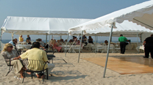 Long Island Tent Rentals Contact Page Image.